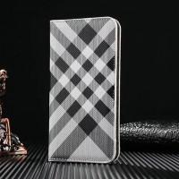 Чехол портмоне подставка текстура Линии на пластиковой основе для Iphone 7