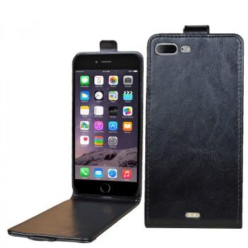 Чехол вертикальная книжка на пластиковой основе на магнитной защелке для Iphone 7 Plus