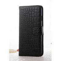 Чехол портмоне подставка текстура Крокодил на пластиковой основе на магнитной защелке для Iphone 7 Plus/8 Plus