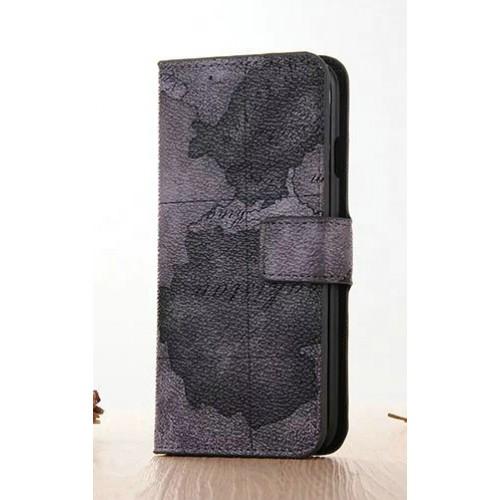 Винтажный чехол портмоне подставка на пластиковой основе с полноповерхностным принтом на магнитной защелке для Iphone 7 Plus/8 Plus