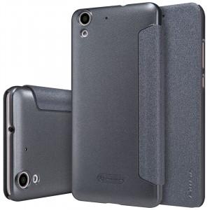 Чехол горизонтальная книжка на пластиковой нескользящей премиум основе для Huawei Y6II