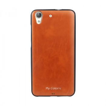 Силиконовый матовый непрозрачный чехол с текстурным покрытием Кожа для Huawei Y6II