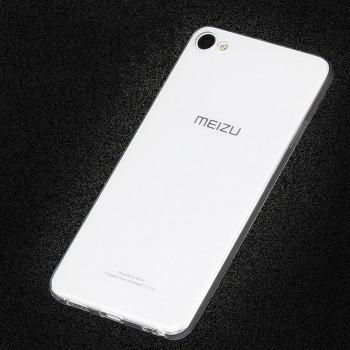 Силиконовый матовый транспарентный чехол для Meizu U20
