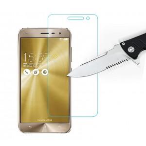 Ультратонкое износоустойчивое сколостойкое олеофобное защитное стекло-пленка для Asus ZenFone 3 5.2
