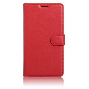 Чехол портмоне подставка на силиконовой основе на магнитной защелке для Iphone 7 Plus/8 Plus Красный