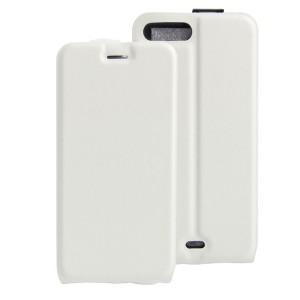 Чехол вертикальная книжка на силиконовой основе с отсеком для карт на магнитной защелке для Iphone 7 Plus/8 Plus Белый