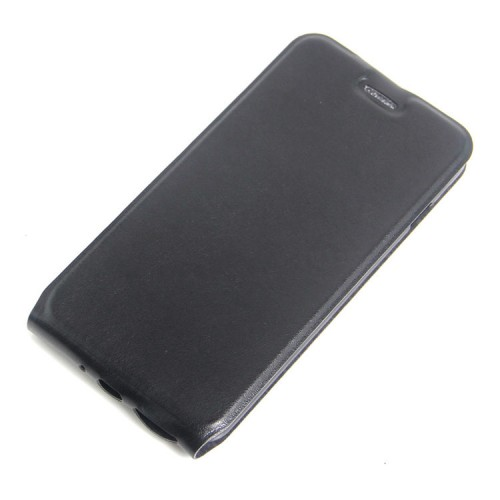 Чехол вертикальная книжка на силиконовой основе с отсеком для карт на магнитной защелке для Iphone 7 Plus/8 Plus