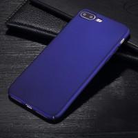 Пластиковый непрозрачный матовый чехол с улучшенной защитой элементов корпуса для Iphone 7 Plus/8 Plus Синий