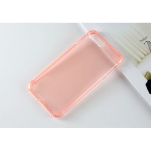 Силиконовый матовый полупрозрачный чехол с улучшенной защитой элементов корпуса (заглушки) для Iphone 7 Plus/8 Plus