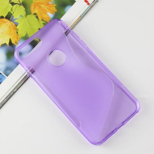 Силиконовый матовый полупрозрачный чехол с дизайнерской текстурой S для Iphone 7 Plus/8 Plus