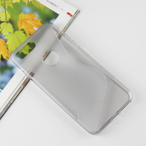 Силиконовый матовый полупрозрачный чехол с дизайнерской текстурой S для Iphone 7 Plus/8 Plus Черный