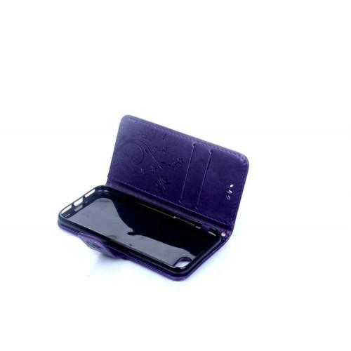 Чехол портмоне подставка текстура Узоры на силиконовой основе на магнитной защелке для Iphone 7/8