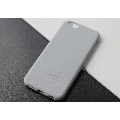 Силиконовый матовый непрозрачный нескользящий премиум софт-тач чехол для Iphone 7/8 Голубой
