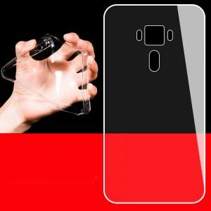 Силиконовый транспарентный чехол для Asus ZenFone 3 5.2