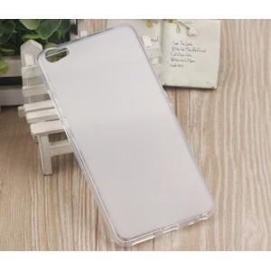 Силиконовый матовый полупрозрачный чехол для Meizu U20  Белый