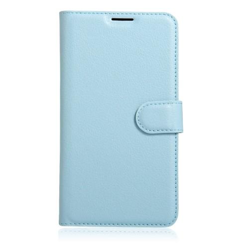 Чехол портмоне подставка на силиконовой основе на магнитной защелке для Xiaomi RedMi Note 4 Белый