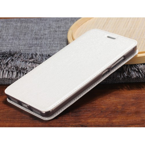 Чехол горизонтальная книжка подставка текстура Золото на силиконовой основе для Xiaomi RedMi Note 4 Черный