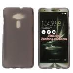 Силиконовый матовый полупрозрачный чехол для Asus ZenFone 3 Deluxe