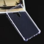 Силиконовый глянцевый транспарентный чехол с усиленными углами для Asus ZenFone 3 Deluxe