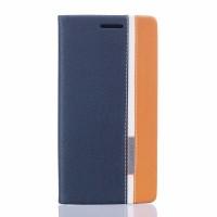 Чехол портмоне подставка на силиконовой основе для BQ Aquaris X5