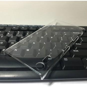 Пластиковый транспарентный чехол для Sony Xperia XZ