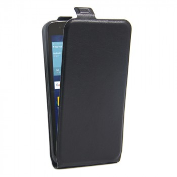 Чехол вертикальная книжка на силиконовой основе с отсеком для карт на магнитной защелке для LG K7