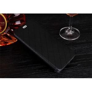 Чехол горизонтальная книжка подставка текстура Кирпичи на силиконовой основе с отсеком для карт для Asus ZenFone 3 Max