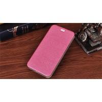 Чехол горизонтальная книжка подставка текстура Дерево на силиконовой основе для Asus ZenFone 3 Max Розовый