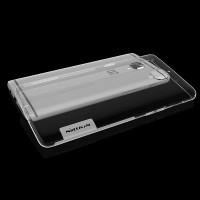 Силиконовый матовый полупрозрачный чехол с улучшенной защитой элементов корпуса (заглушки) для OnePlus 3  Белый