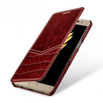 Кожаный чехол горизонтальная книжка (2 вида премиум нат. кожи) для Samsung Galaxy Note 7!New 12.10.2016