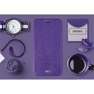 Чехол горизонтальная книжка подставка текстура Линии на силиконовой основе для ZTE Nubia Z11 Фиолетовый