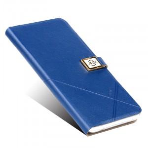 Чехол горизонтальная книжка подставка на силиконовой основе на дизайнерской магнитной защелке для ZTE Nubia Z11