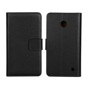 Чехол портмоне подставка на пластиковой основе на магнитной защелке для Nokia Lumia 630/635