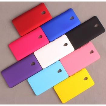 Пластиковый непрозрачный матовый чехол для Lenovo S860