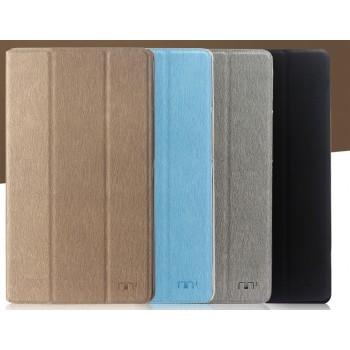 Сегментарный чехол книжка подставка на транспарентной поликарбонатной основе для Huawei MediaPad M3