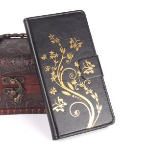 Чехол горизонтальная книжка подставка текстура Узоры на клеевой основе с отсеком для карт на магнитной защелке для Oukitel K10000
