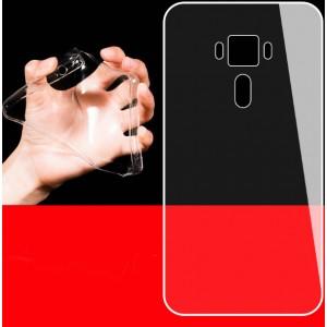Силиконовый матовый транспарентный чехол для Asus ZenFone 3 Laser