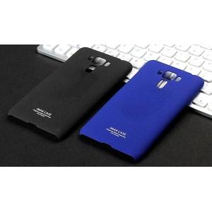 Пластиковый непрозрачный матовый чехол с повышенной шероховатостью для Asus ZenFone 3 Laser