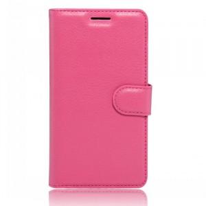 Чехол портмоне подставка на силиконовой основе на магнитной защелке для Umi London  Пурпурный