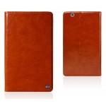 Вощеный чехол книжка подставка на полупрозрачной силиконовой основе для Huawei MediaPad M3