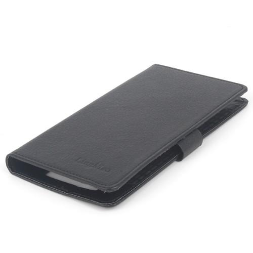Чехол портмоне подставка на клеевой основе на магнитной защелке для Blackview BV5000