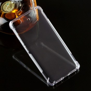 Силиконовый матовый транспарентный чехол с усиленными углами для Xiaomi Mi5S