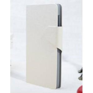 Чехол горизонтальная книжка подставка текстура Золото на пластиковой основе с отсеком для карт на магнитной защелке для Lenovo P780