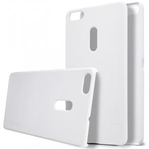 Пластиковый непрозрачный матовый нескользящий премиум чехол для Asus ZenFone 3 Ultra
