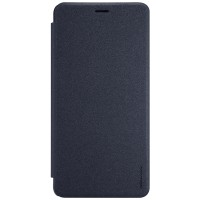 Чехол горизонтальная книжка на пластиковой нескользящей премиум основе для Asus ZenFone 3 Ultra  Черный