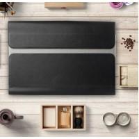 Кожаный мешок папка (премиум нат. кожа) на магнитном клапане для Lenovo Yoga Book  Черный