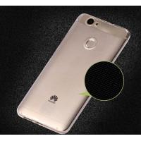 Силиконовый матовый транспарентный чехол для Huawei Nova