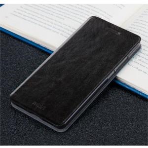 Глянцевый чехол горизонтальная книжка подставка на силиконовой основе для Meizu M5 Note