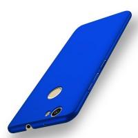 Пластиковый непрозрачный матовый чехол с защитой торцев для Huawei Nova Синий