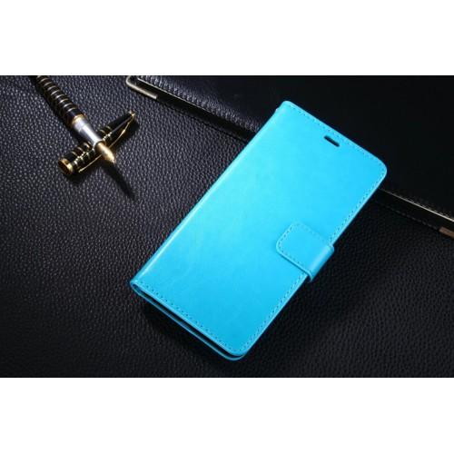 Винтажный чехол портмоне подставка на пластиковой основе на магнитной защелке для Meizu U20
